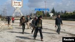 Сирияда жүрген содырлар. Идлиб провинциясы. (Көрнекі сурет)