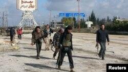 Suriya qiyamçıları İdlibdə