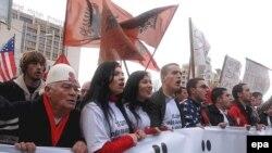 Protest u Prištini 10.12.2007.
