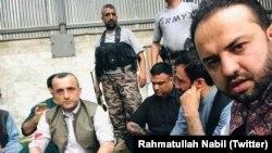 Амрулла Салех (ліворуч) зазнав нападу 28 липня