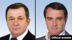 Народні депутатіи Леонід Сергієнко та Андрій Павелко
