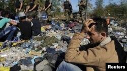 Na ničijoj zemlji, između Grčke i Makedonije