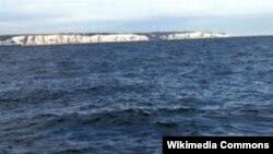 Северное море у берегов Великобритании.