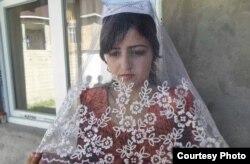 Раджаббі Хуршед у день весілля