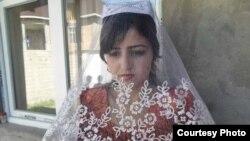 Раджабби Хуршед в день свадьбы