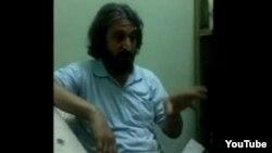 Heshmatollah Tabarzadi na YouTube snimku iz zatvora