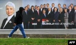 Predizborni poster HDZ-a