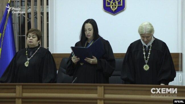 Головуюча суддя у справі Нечипоренка Оксана Голуб винесла рішення за годину