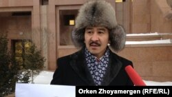 Астаналық азаматтық белсенді Мақсат Ілиясұлы.