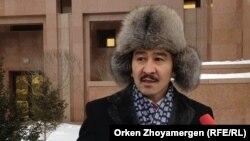 """Мақсат Ілиясұлы, """"Антигептил"""" қозғалысының мүшесі."""