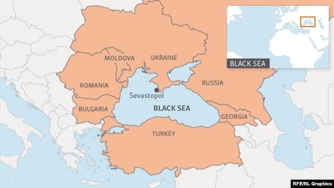 Blogging From The Black Sea Coast Where Neighbors Harbor Suspicion - Abkhazia map black sea