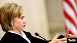 Hillari Klinton Moskva Dövlət Universitetində, 14 oktyabr 2009
