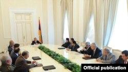 Расширенное заседание Совета нацбезопасности Армении, 8 октября, 2009 г.
