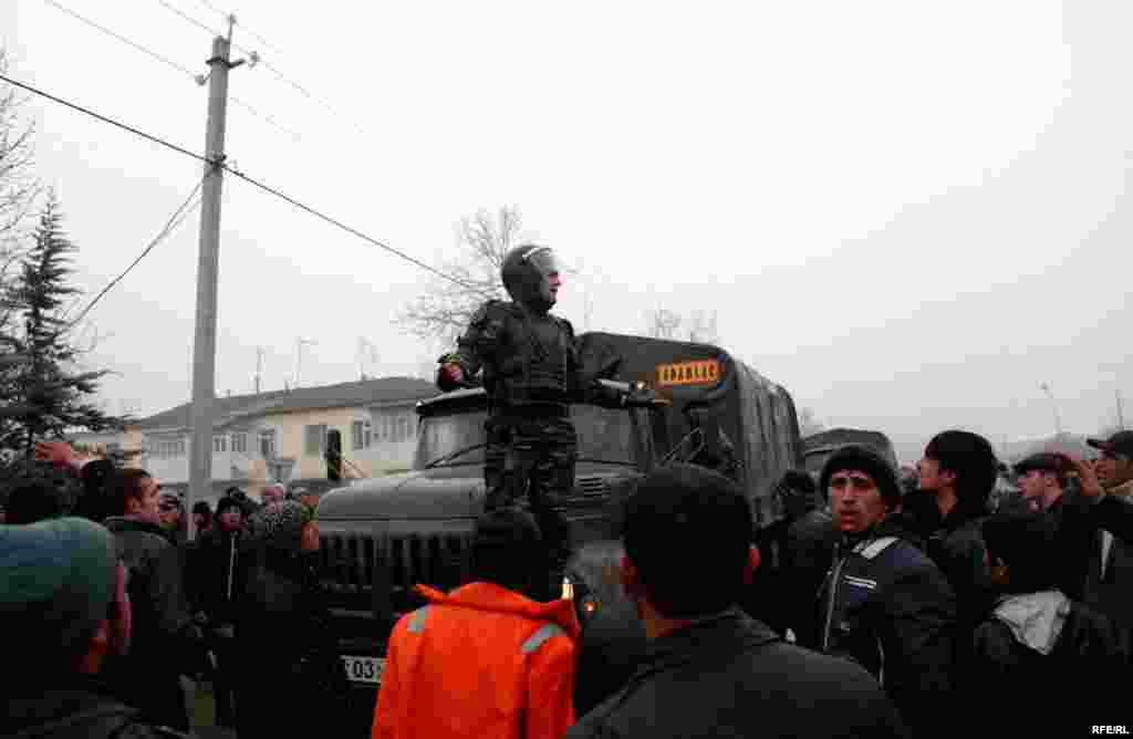 Protest Violence Erupts In Azerbaijan #2