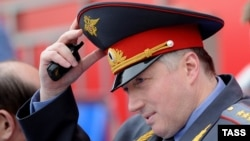 St. Petersburg police chief General Mikhail Sukhodolsky has been dismissed.