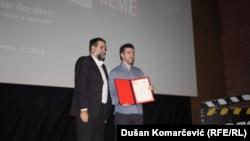 Vukašin Obradović (L) and Aleksandar Đorđević