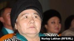 Көрермен Шолпан тәте. Алматы, 17 желтоқсан 2012 жыл.