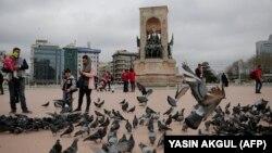 Архивска фотографија: Плоштадот Таксим во Истанбул