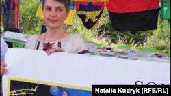 Оксана Максимчук, мати Віталія Марківа, 14 жовтня 2019 року, місто Толентіно, Італія