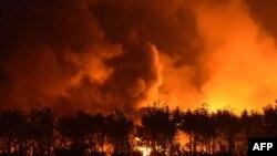 В Китае прогремел взрыв мощностью 21 тонна тротила