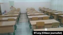 Uzbekistan - school repaired