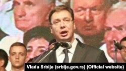 Aleksandar Vučić u Sremskoj Rači
