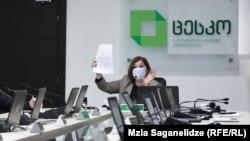 Тамар Жвания, раиси Комиссии марказии интихоботи Гурҷистон