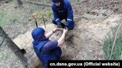 За даними ДСНС, знахідку виявили поблизу села Дібрівне Чернігівської області