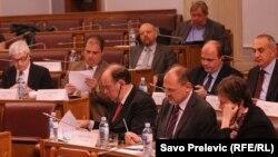 Sastanak parlamentarnog odbora za stabilizaciju i pridruživanje Evropske unije i Crne Gore, 3. april 2012.