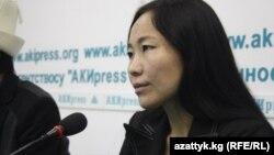 Бахияна Сатылганова маалымат жыйынын өткөрүп, расмий түрдө кечирим сураган.