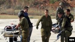 انتقال زخمیها به بیمارستانی در تلآویو