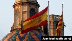 Испания менен Каталониянын желеги