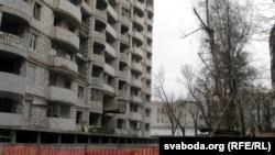 Belarus - New construction in Homel, 20Feb2014