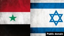 Israel-Syria Flags