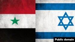 Israel Syria Flags