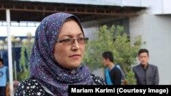مریم کریمی مسئول بنیاد کودک در بلخ