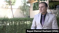 د افغانستان د ازادو او عادلانه انتخاباتو د بنسټ اجرائیه رئیس ښاغلی یوسف رشید