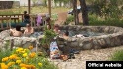 """Пансионат """"Керемет-Суу"""" на Иссык-Куле. 13 августа 2015 года."""