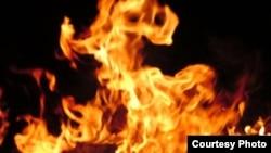 Пламя огня. Иллюстративное фото.