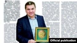 Дырэктар «Белкаапзьнешгандаль» Уладзімер Забродзкі. Выява з сайта кампаніі