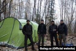 Участники экспедиции. Штепан Черноушек – крайний справа