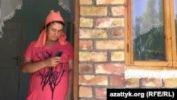 Қырғызстанның Ноокен ауданы Сары-Сыя ауылында тұратын кәсіпкер Лутсия Эралиева.