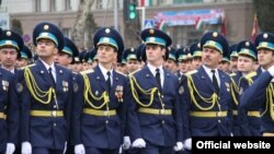 Военный парад в Таджикистане