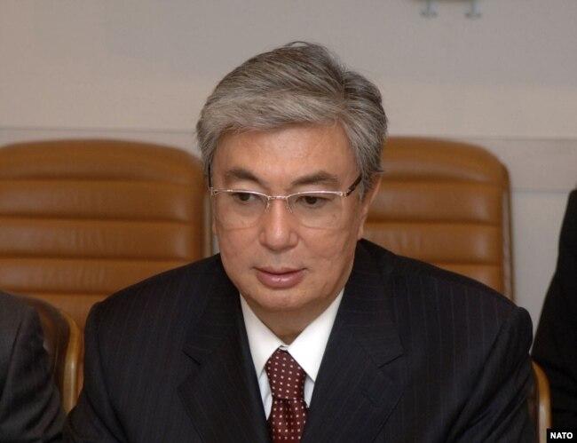 Касым-Жамрат Токаев, министр иностранных дел Казахстана, в штаб-квартире NATO, Брюссель, 04 октября 2006