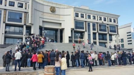 Astanada 89 saylı seçki məntəqəsi
