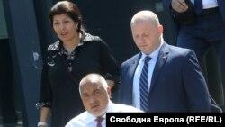 Севделина Арнаудова заедно с Бойко Борисов на миналогодишната национална конференция на ГЕРБ