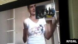 Украинская летчица Надежда Савченко в тюрьме в Воронеже