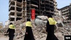 Здесь жили люди. Южный Бейрут