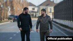 Магомед Даудов и Рамзан Кадыров, иллюстративное фото