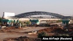 Пограничный переход Насиб. Архивное фото